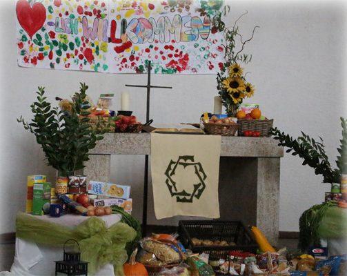 Minigottesdienst zu Erntedank und Kartoffelfest