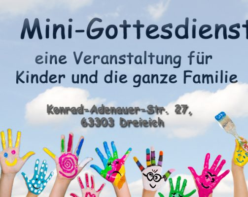 Minigottesdienst in Dreieich