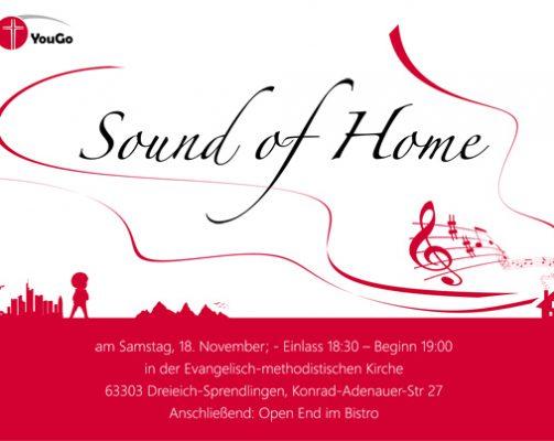 "Jugendgottesdienst – ""Sound of Home"""