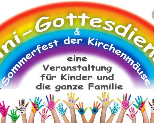 Sommerfest bei den Kirchenmäusen in Dreieich
