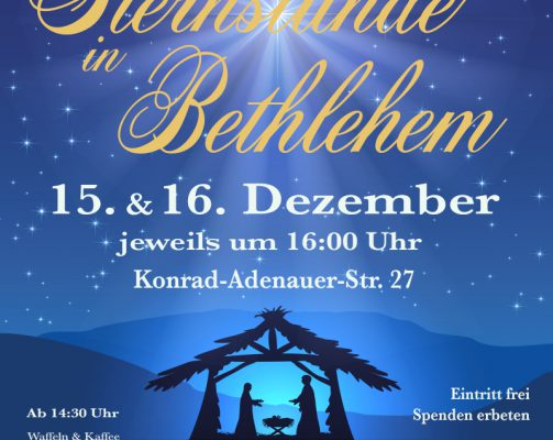 Sternstunde in Bethlehem