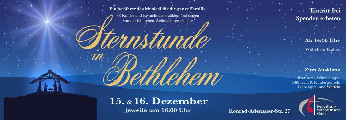 Sternstunde im Bethlehem Weihnachtsmusical in EmK Dreieich