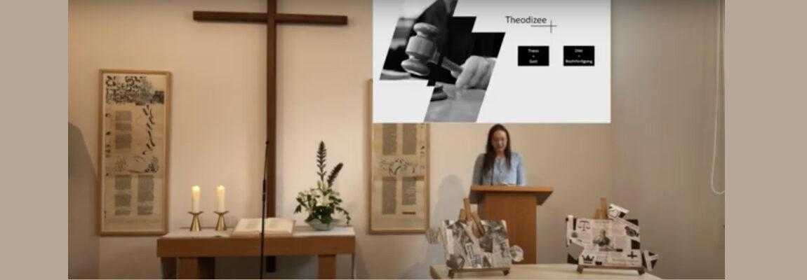 Wo warst du Gott? – Theodizeefrage mit Emma Hrcan